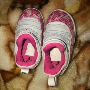 Pink Snakeskin Jordan 11's
